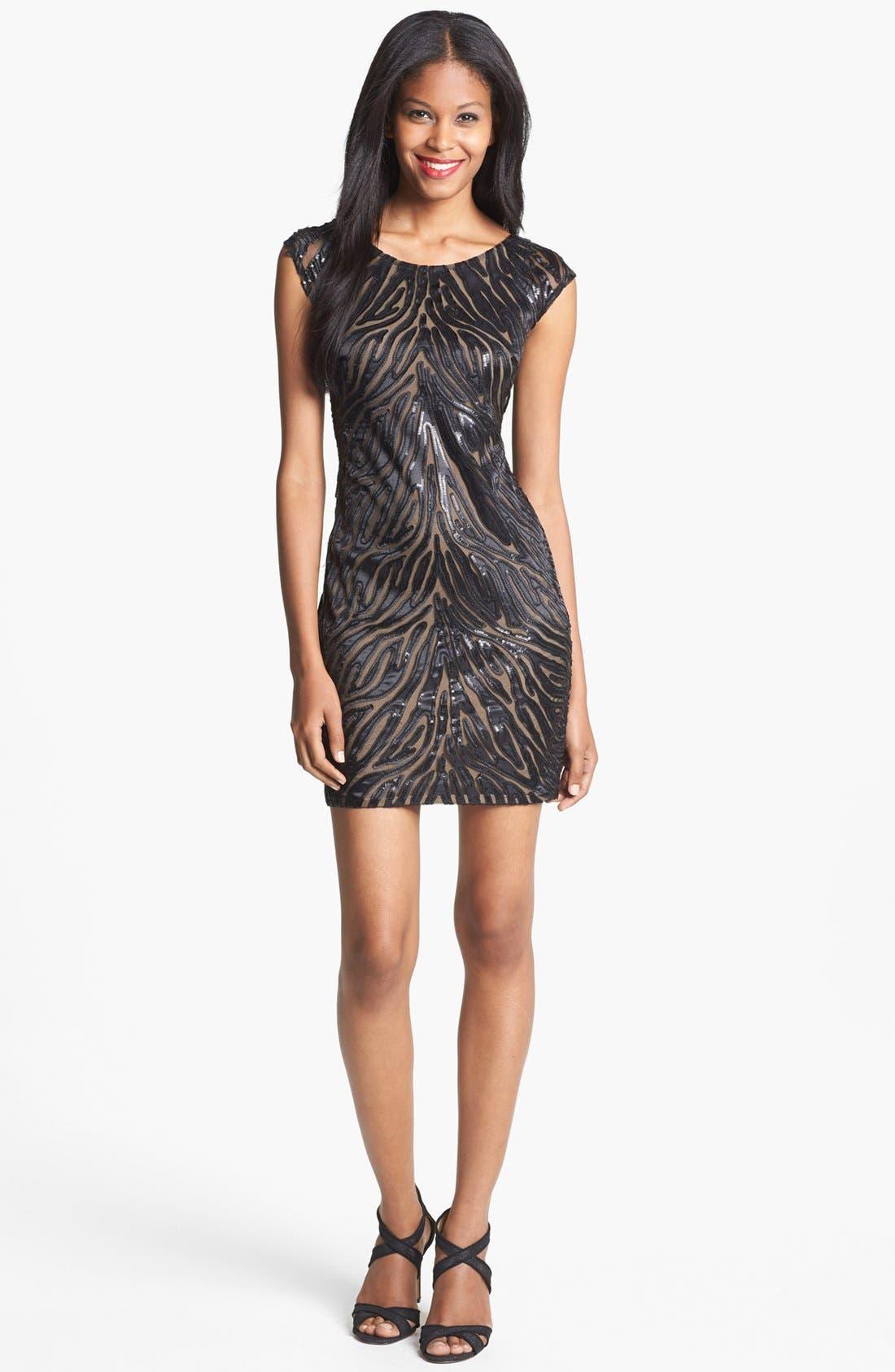 Alternate Image 1 Selected - B44 Dressed by Bailey 44 'Stranger of Desire' Embellished Sheath Dress