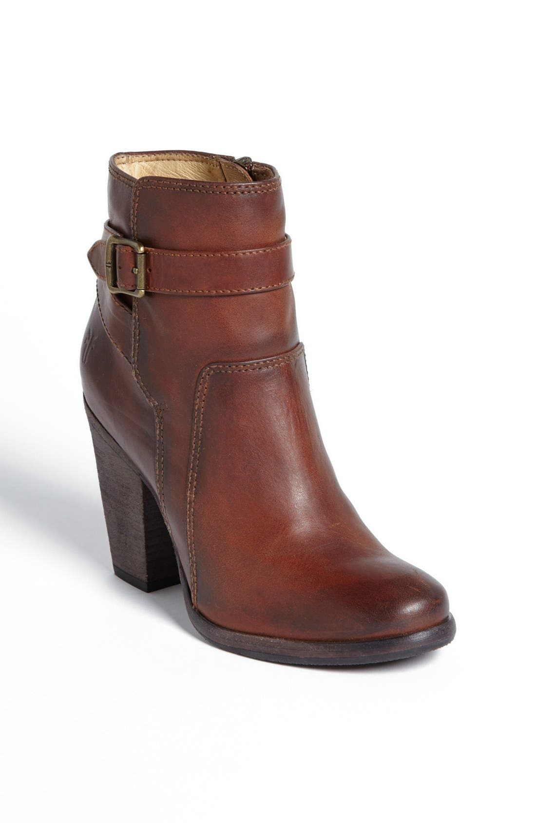 Main Image - Frye 'Patty' Leather Riding Bootie (Women)