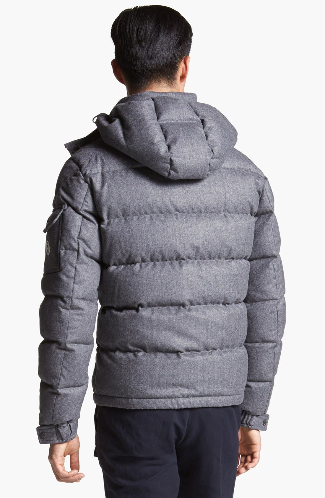 Alternate Image 2  - Moncler 'Mongenevre' Wool Down Jacket