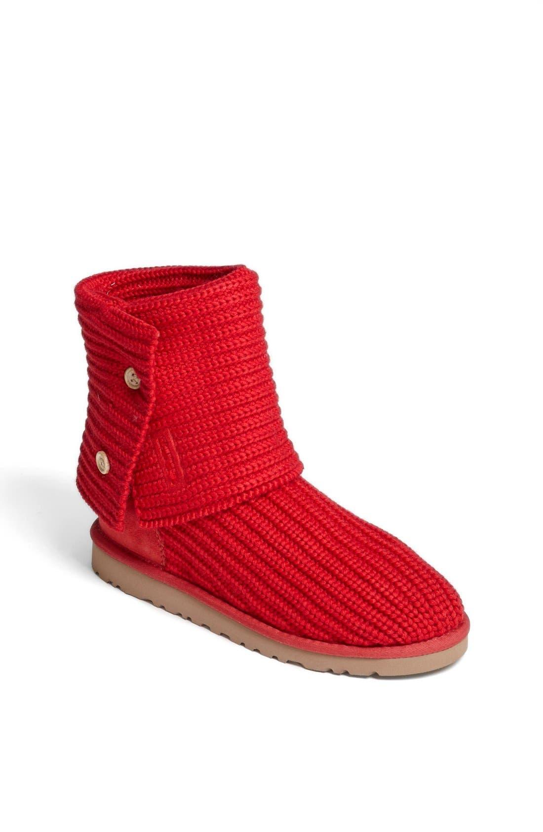 Alternate Image 1 Selected - UGG® 'Cardy' Crochet Boot (Toddler, Little Kid & Big Kid)