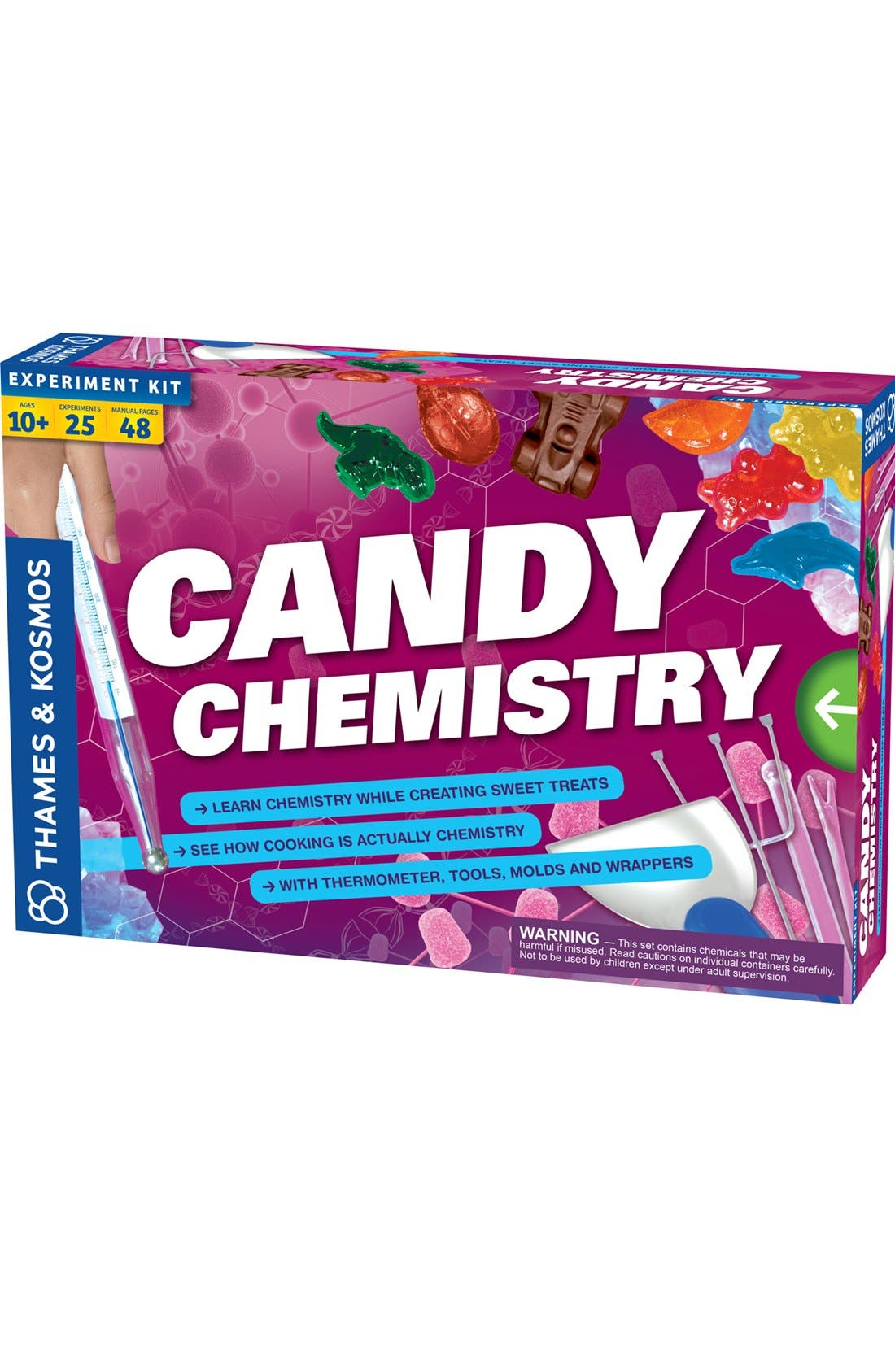 Thames & Kosmos Candy Chemistry Science Kit