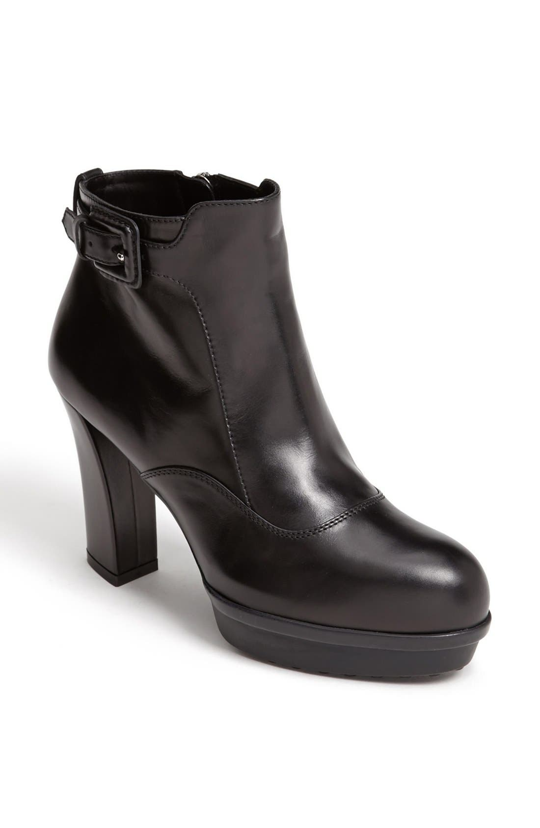 Alternate Image 1 Selected - Tod's Ankle Strap Bootie