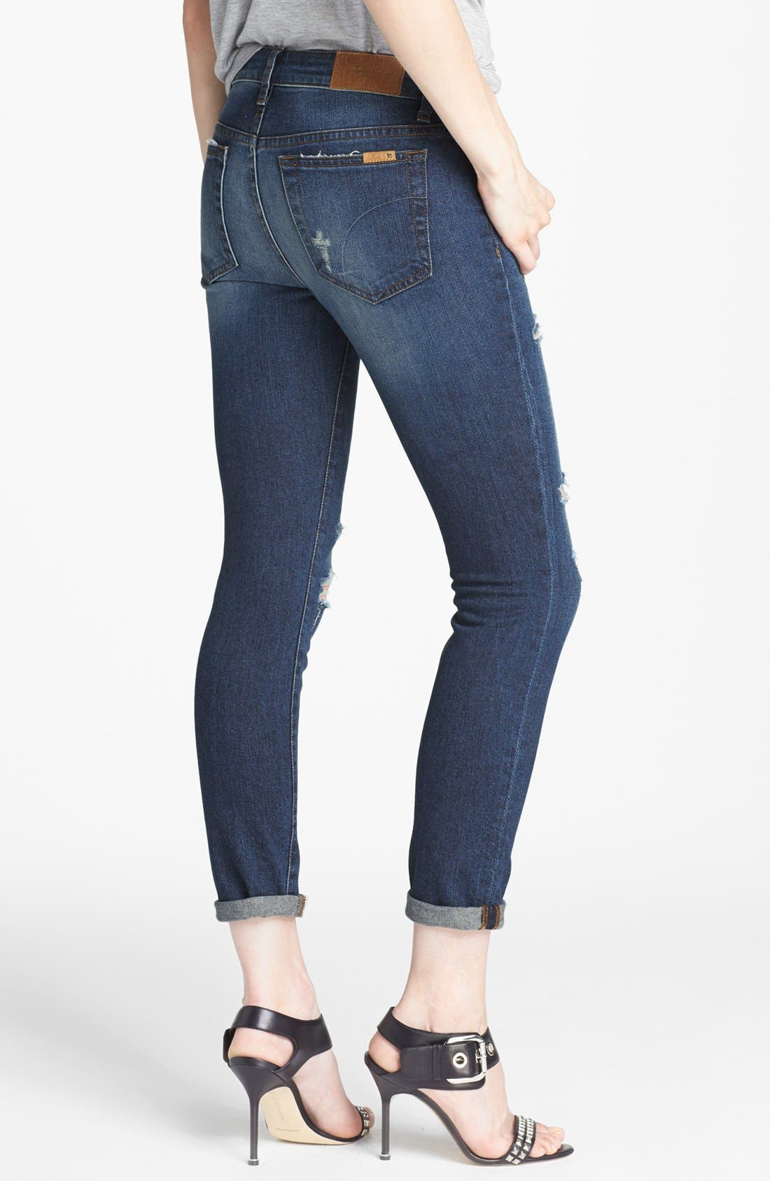 Alternate Image 2  - Joe's Distressed Skinny Ankle Jeans (Tami)