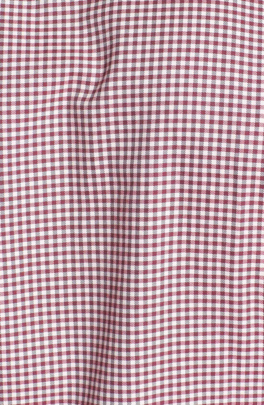 Alternate Image 3  - Ted Baker London 'Flannew' Flannel Trim Sport Shirt