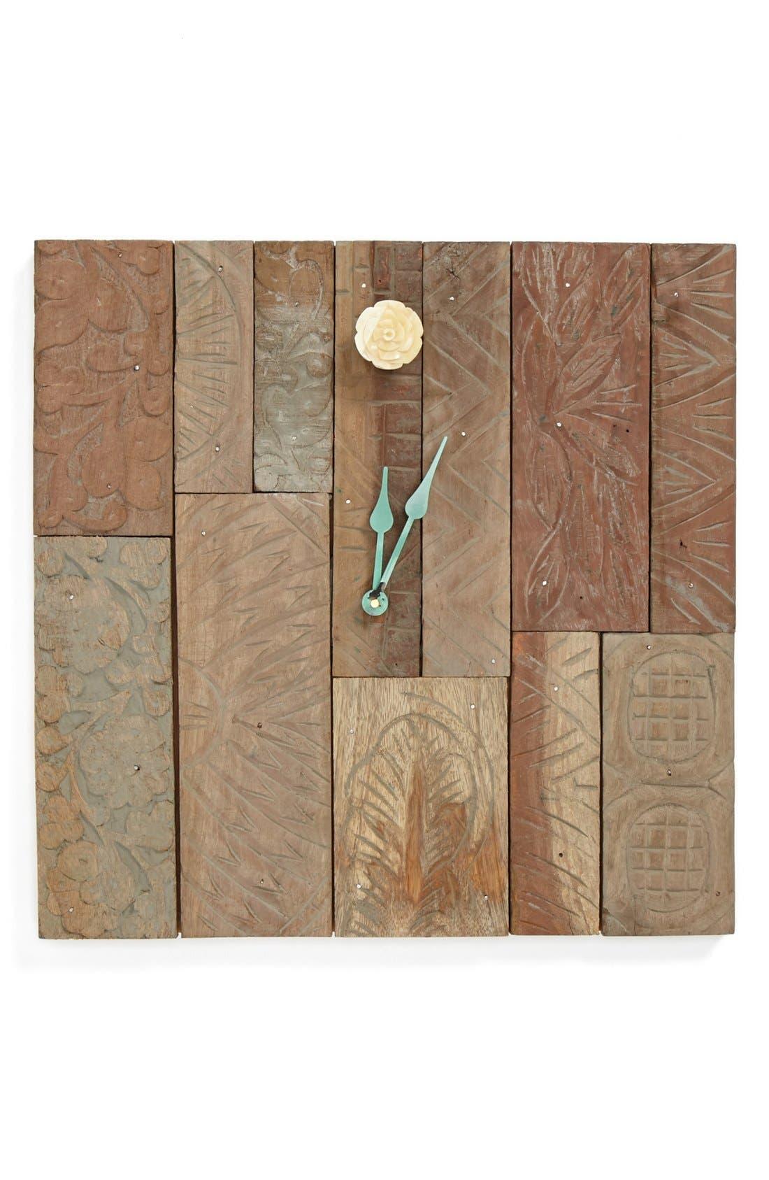 Alternate Image 1 Selected - Foreside 'Collectors Corner' Block Wall Clock