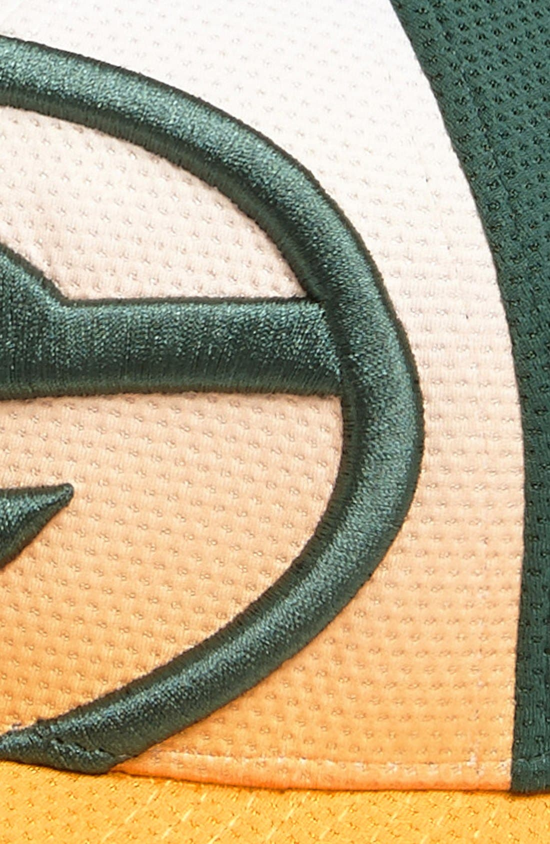 Alternate Image 3  - New Era Cap 'Gradation - Green Bay Packers' Baseball Cap