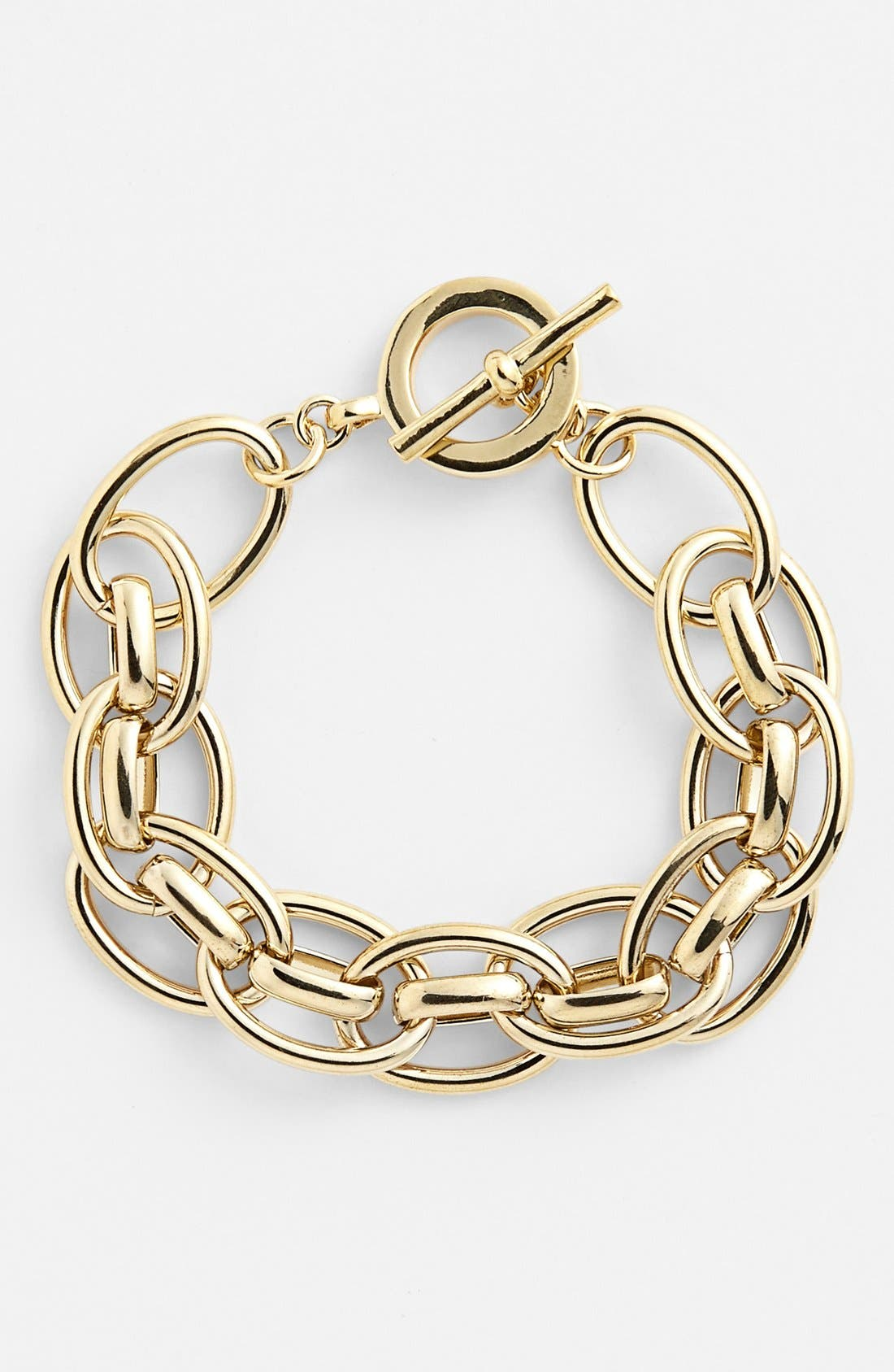 Alternate Image 1 Selected - Lauren Ralph Lauren Chunky Link Toggle Bracelet