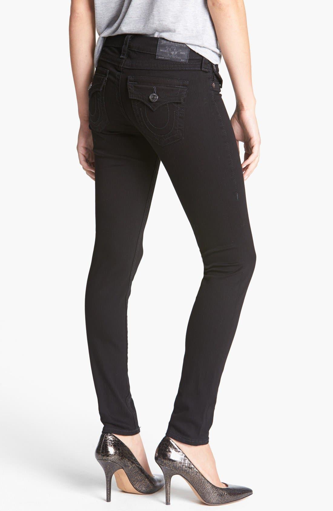 Alternate Image 2  - True Religion Brand Jeans 'Misty' Skinny Denim Leggings (Super Vixen)
