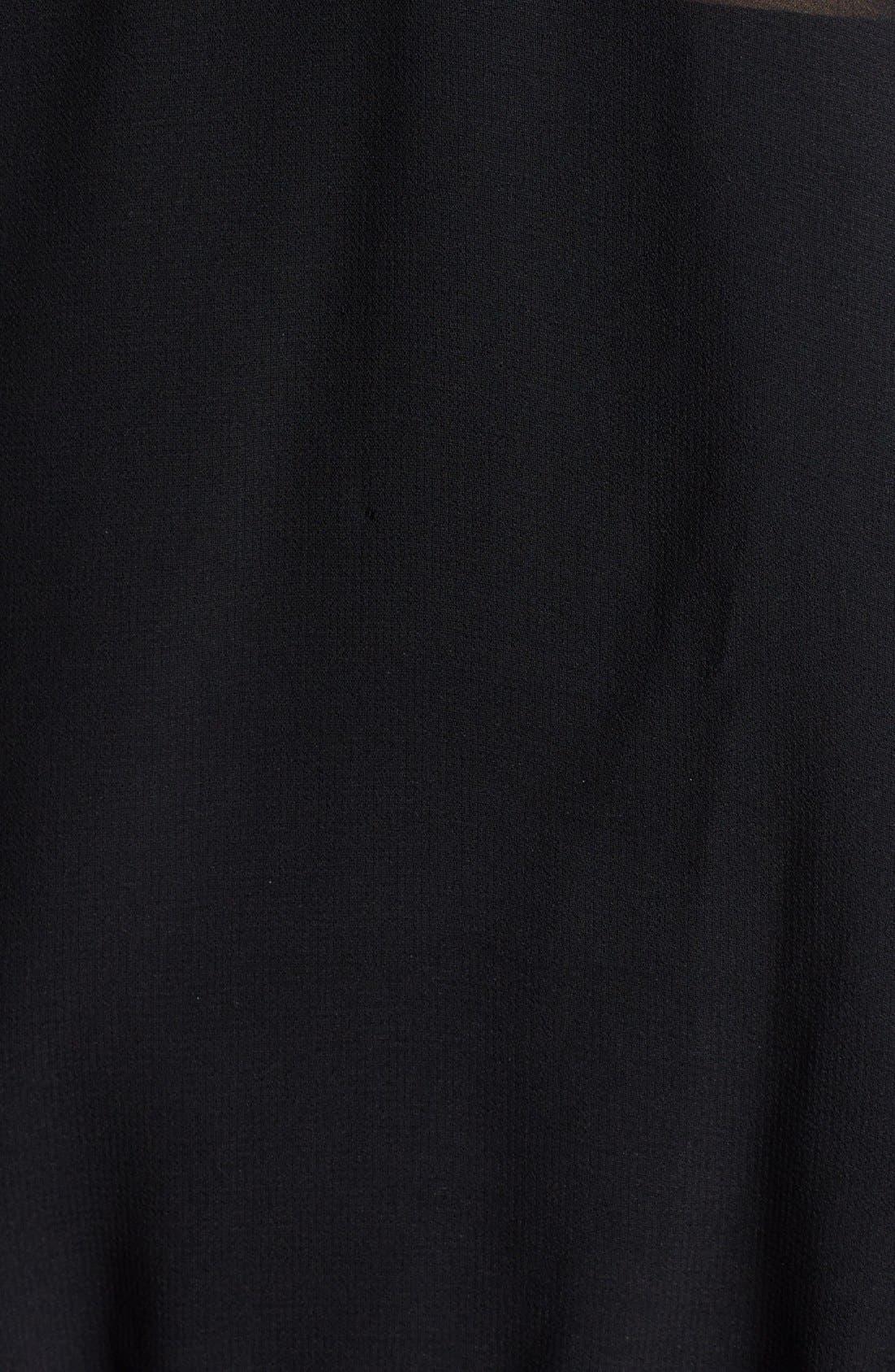 Alternate Image 3  - Hinge® Lace Mock Neck Sheer Top