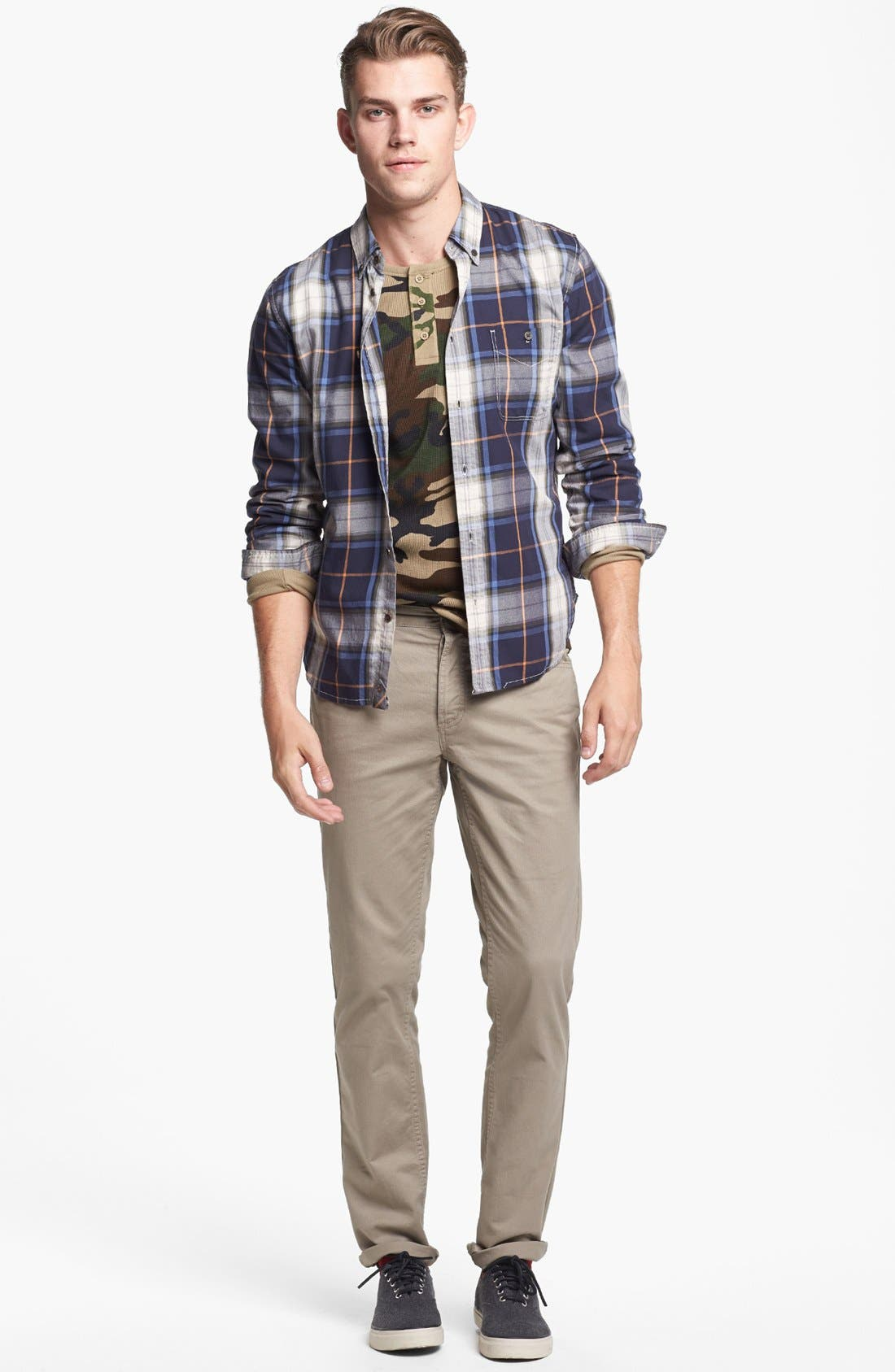 Alternate Image 4  - 7 For All Mankind® Plaid Shirt