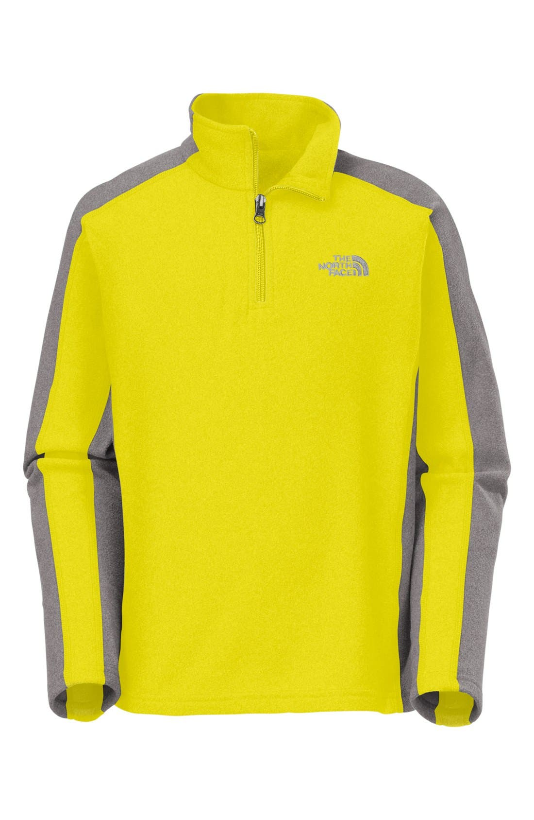 Alternate Image 1 Selected - The North Face 'Glacier' Quarter Zip Pullover (Little Boys)