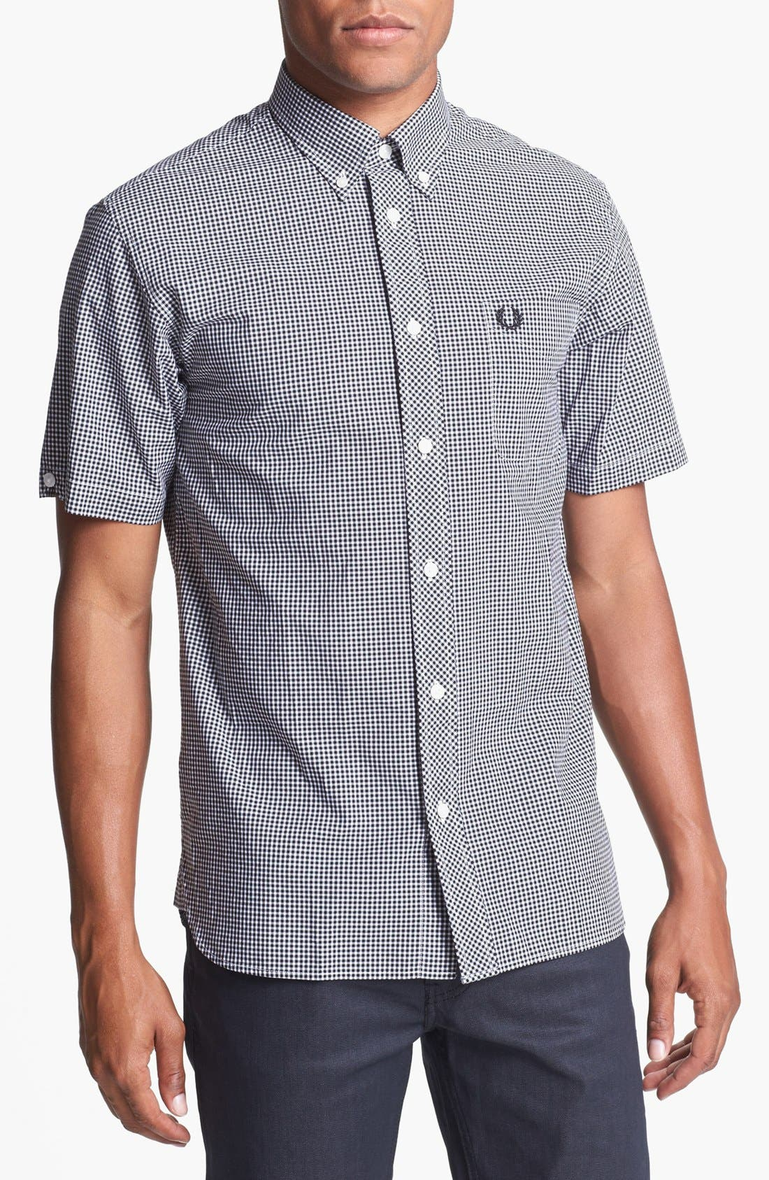 Alternate Image 1 Selected - Fred Perry Gingham Check Shirt
