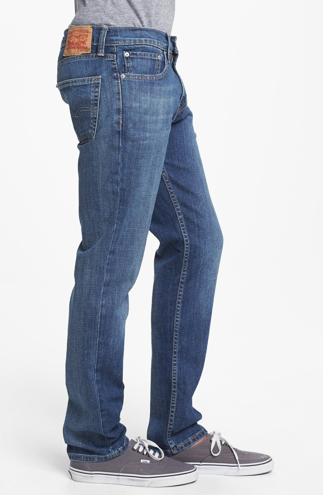 Alternate Image 3  - Levi's® '511™' Slim Fit Jeans (Dusky Blues)