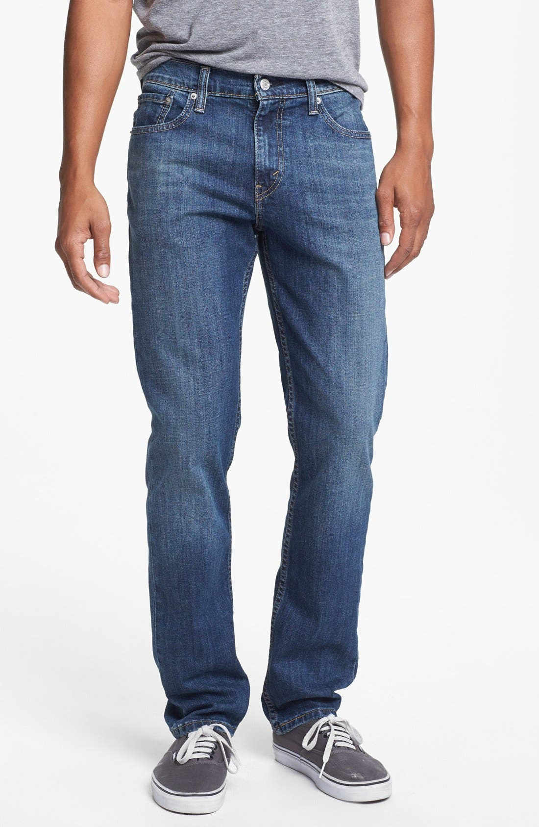 Main Image - Levi's® '511™' Slim Fit Jeans (Dusky Blues)