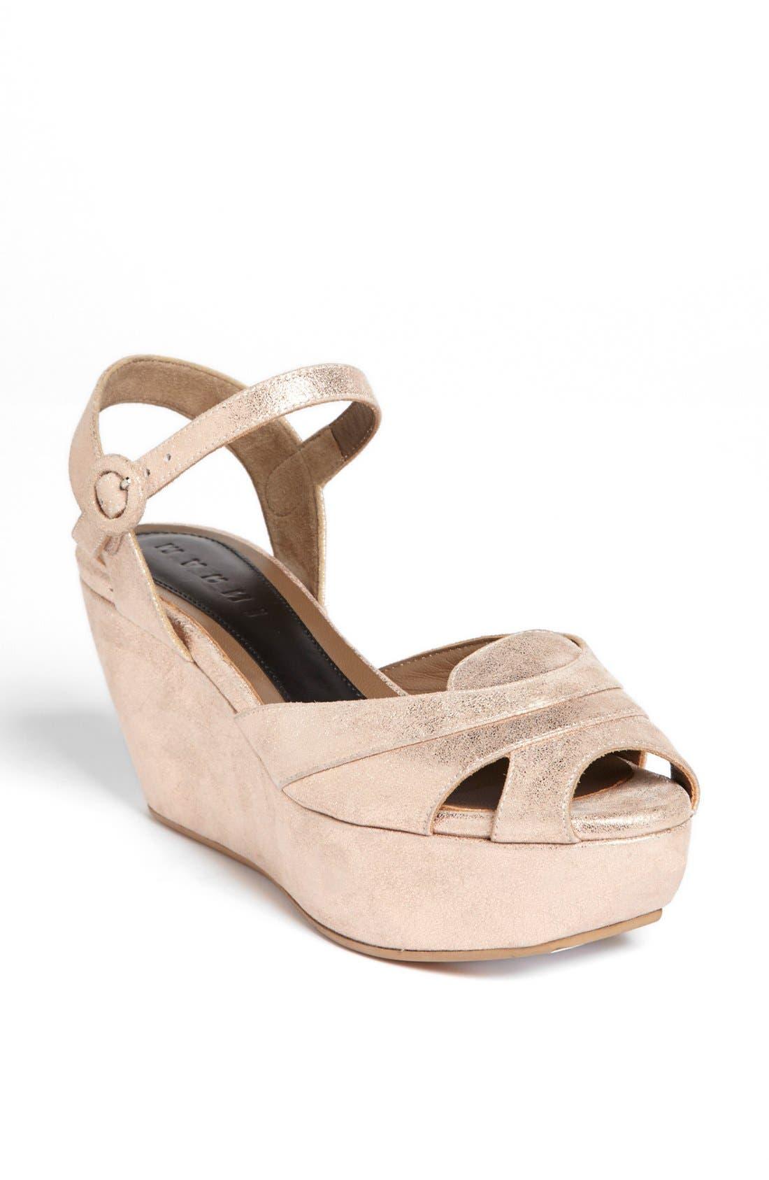 Alternate Image 1 Selected - Marni Wedge Platform Sandal