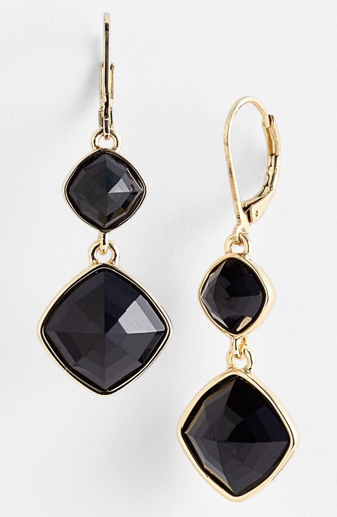 Alternate Image 1 Selected - Anne Klein Double Drop Earrings