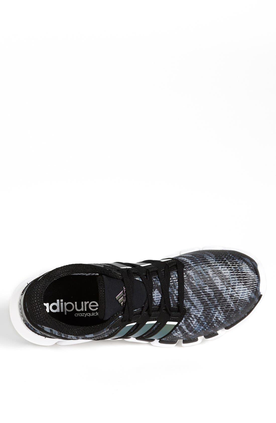 Alternate Image 3  - adidas 'adiPure CrazyQuick' Running Shoe (Men)