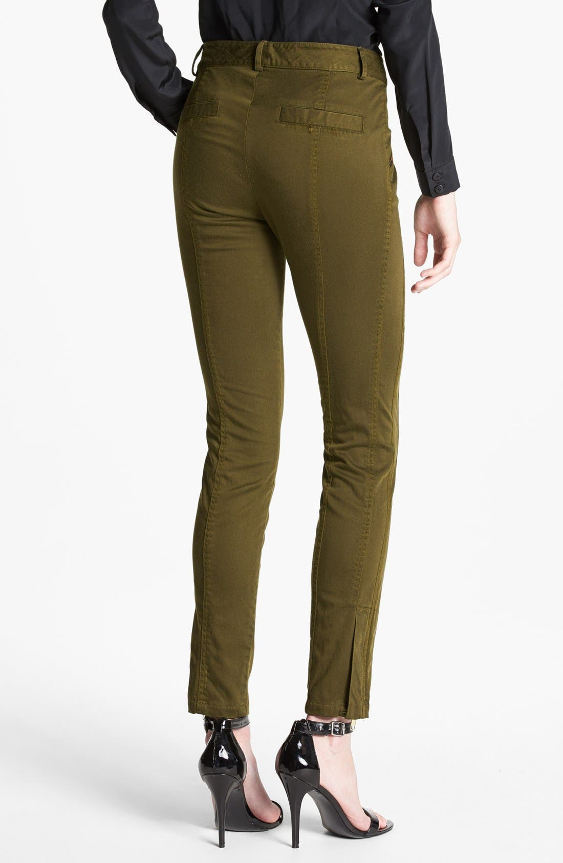 Alternate Image 2  - Nanette Lepore 'Orbit' Seamed Skinny Pants