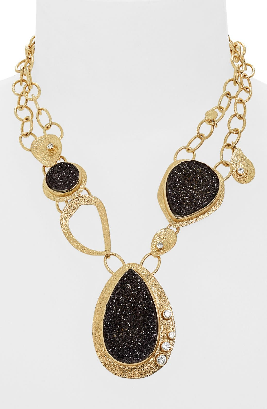 Alternate Image 1 Selected - Melinda Maria 'Gaia' Drusy Necklace