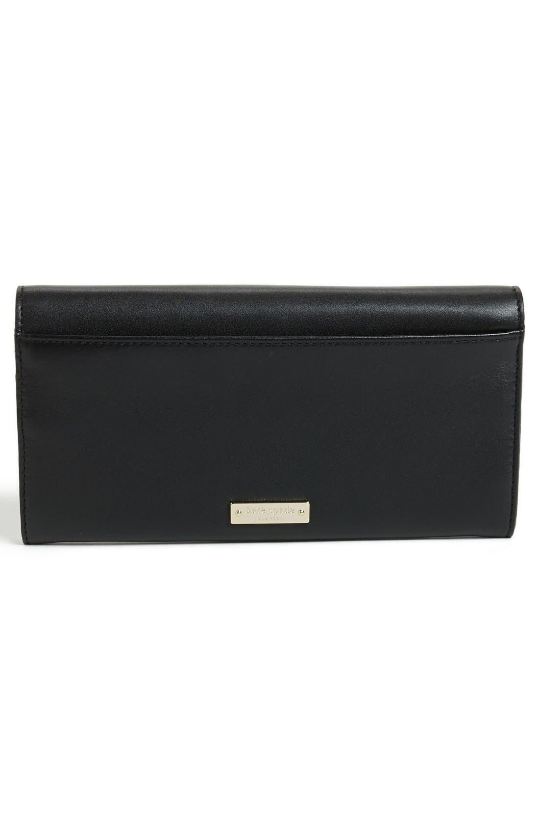 Alternate Image 4  - kate spade new york 'bow terrace - cindy' continental wallet