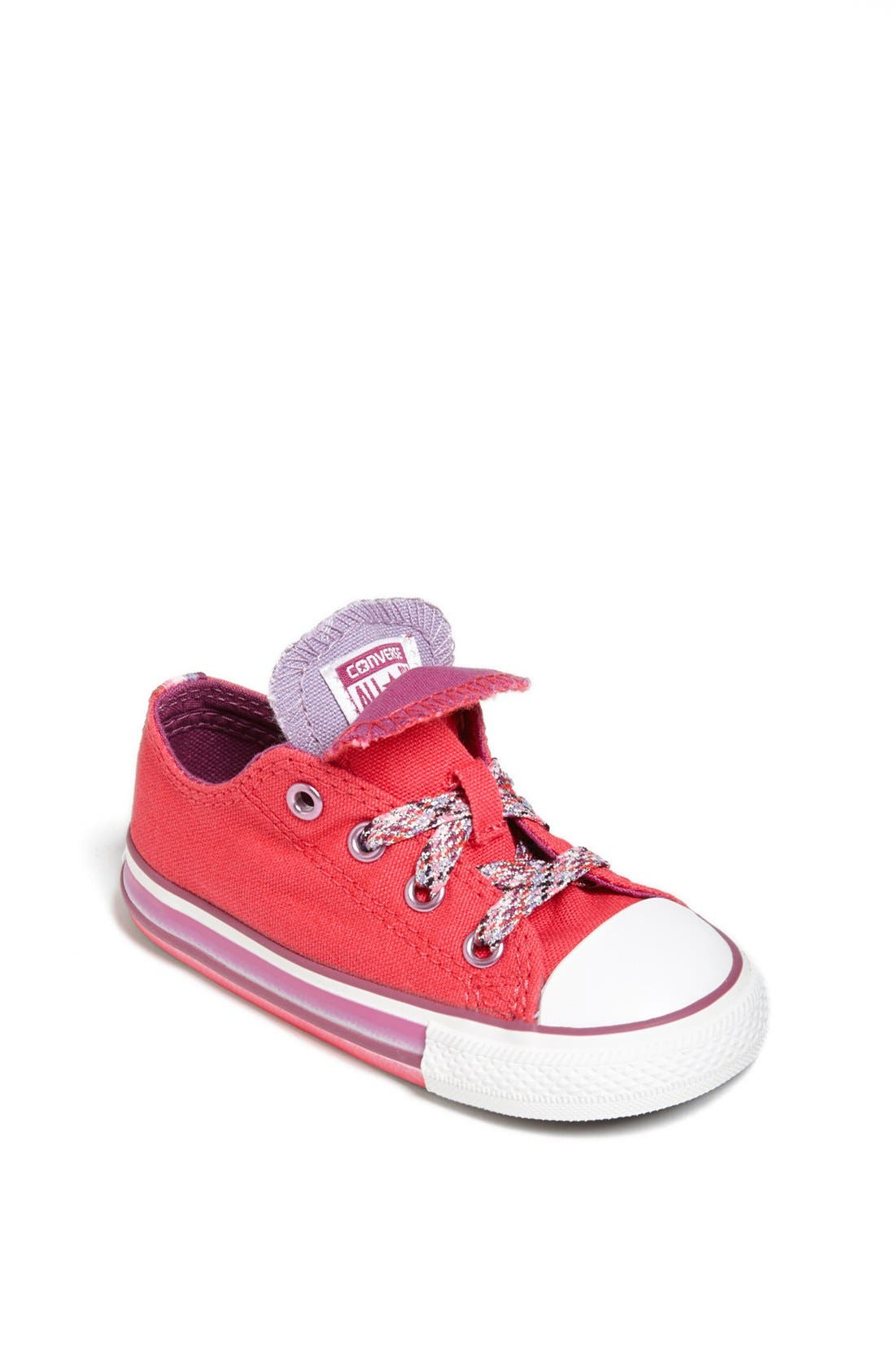 Main Image - Converse Double Tongue Sneaker (Baby, Walker & Toddler)