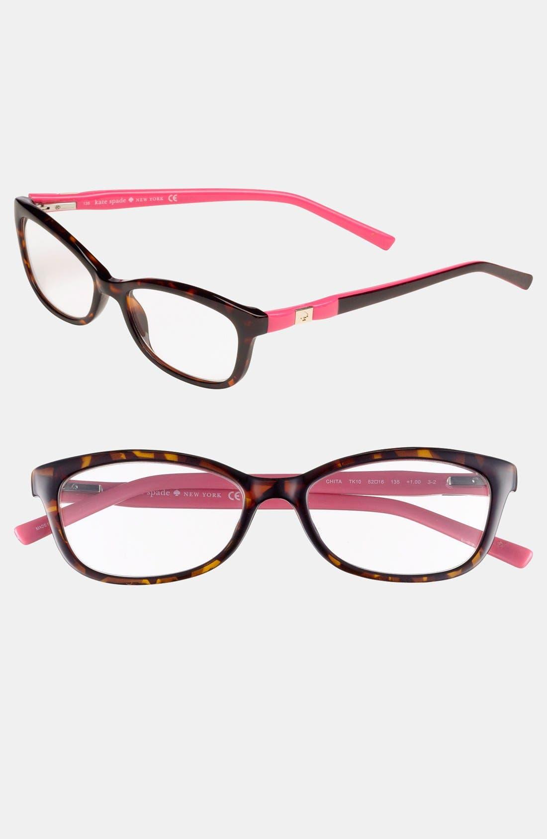 Alternate Image 1 Selected - kate spade new york 'chita' 52mm reading glasses