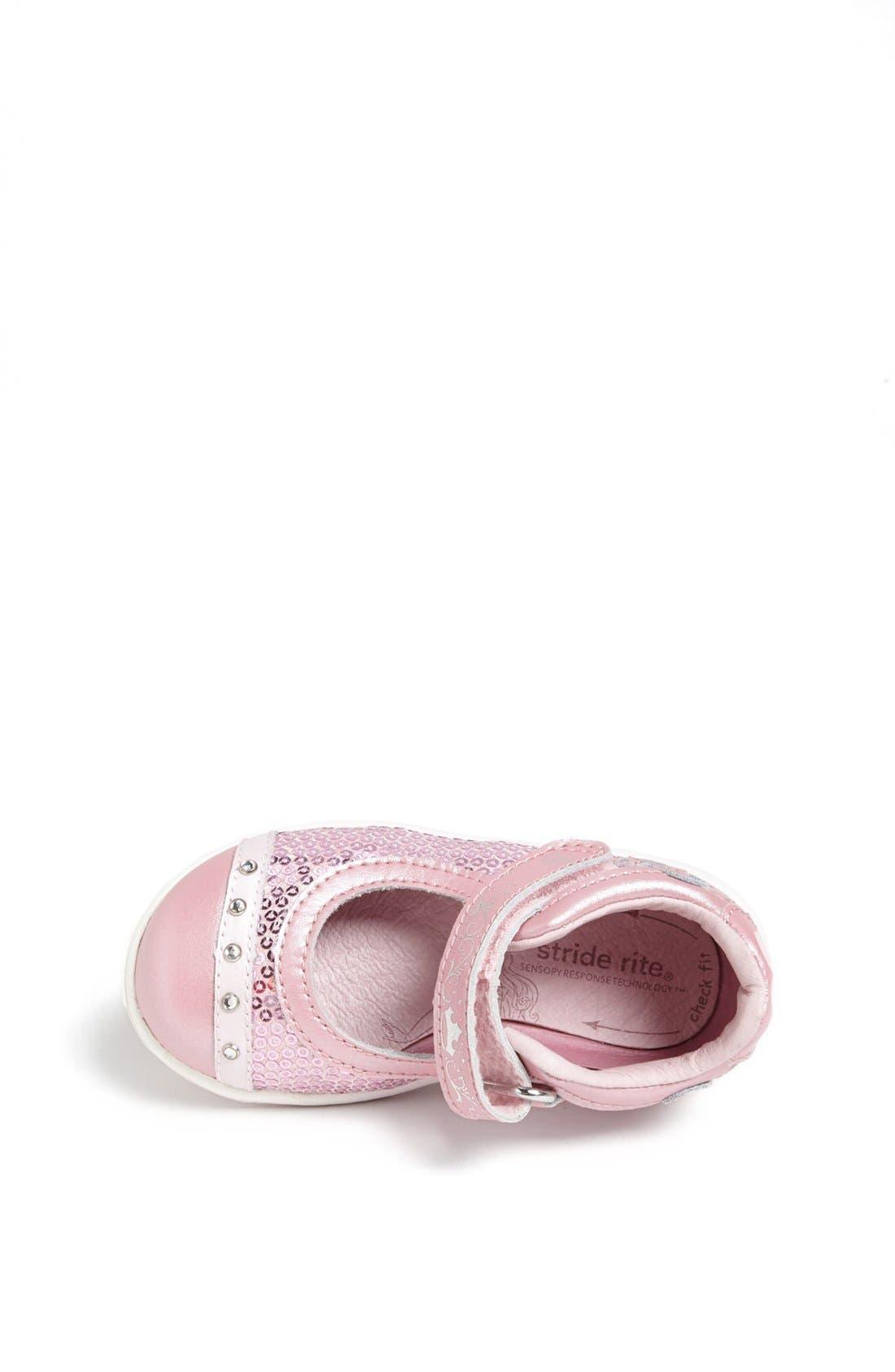 Alternate Image 3  - Stride Rite 'SRT Aurora' Mary Jane Sneaker (Baby, Walker & Toddler)