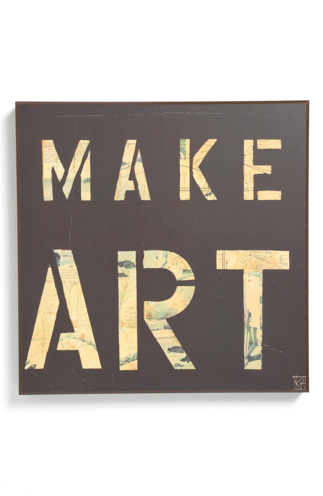 Main Image - Third and Wall Art 'Make Art' Sign