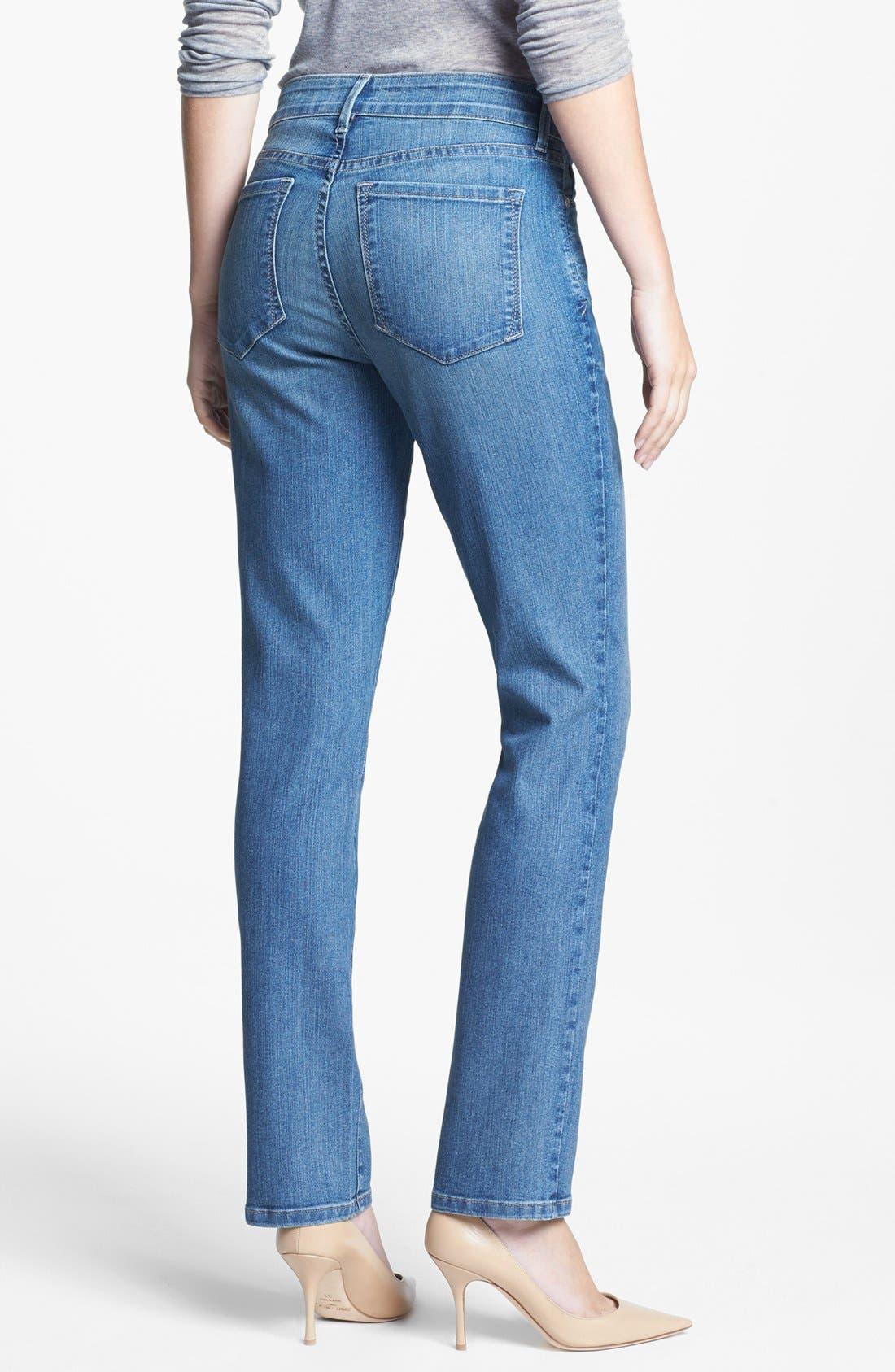 Alternate Image 2  - NYDJ 'Sheri' Stretch Skinny Jeans (Ontario) (Petite)