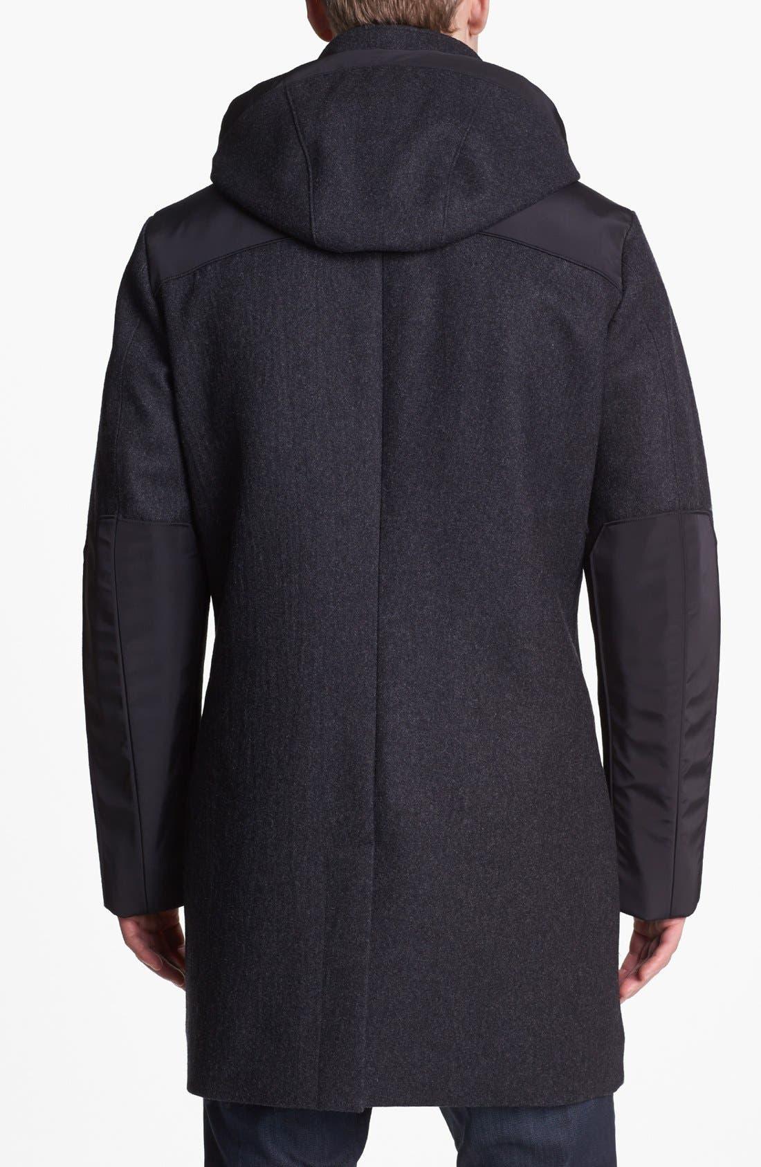 Alternate Image 2  - Victorinox Swiss Army® 'Shuttle' Wool Blend Coat