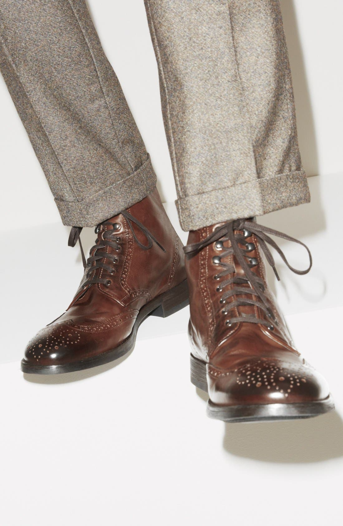 'Brennan' Wingtip Boot,                             Alternate thumbnail 5, color,