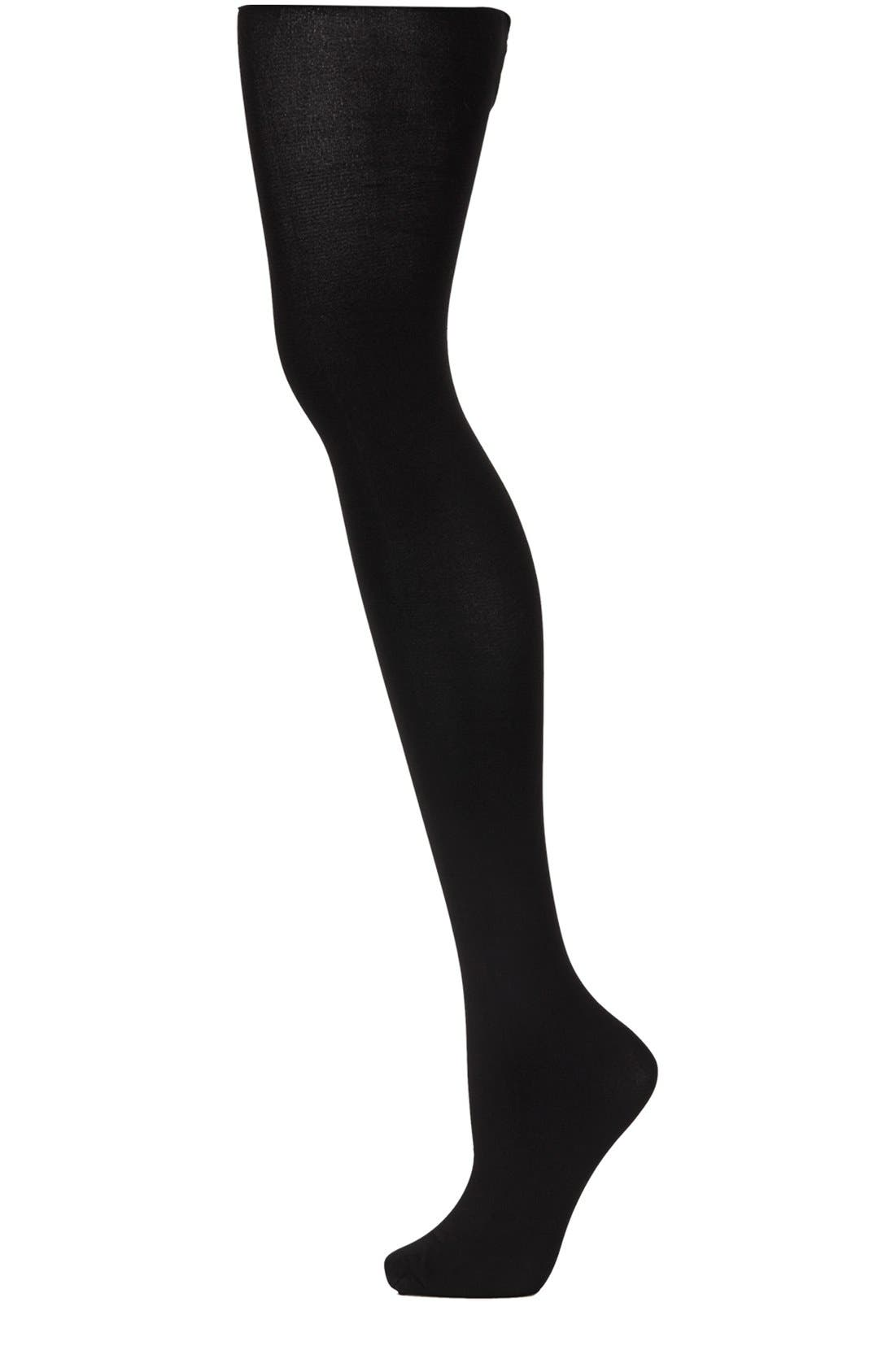 Alternate Image 1 Selected - Topshop 120 Denier Opaque Tights