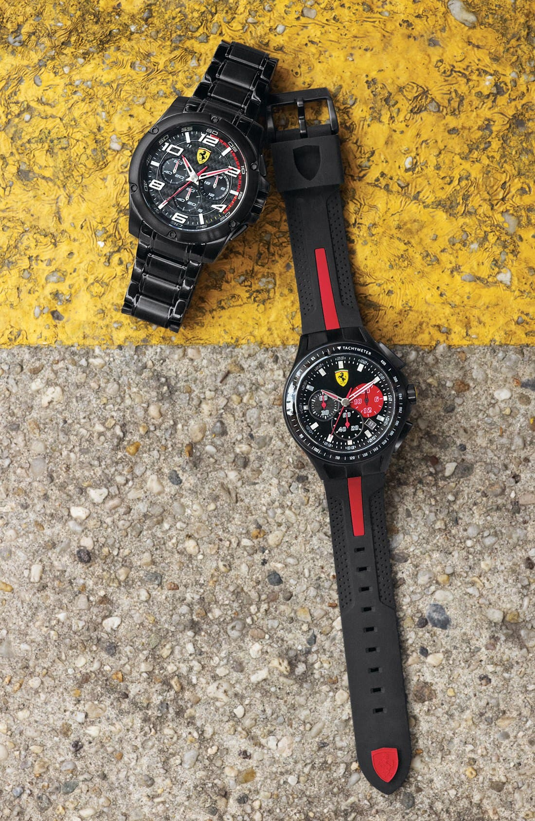 Alternate Image 2  - Scuderia Ferrari 'Race Day' Chronograph Watch, 44mm