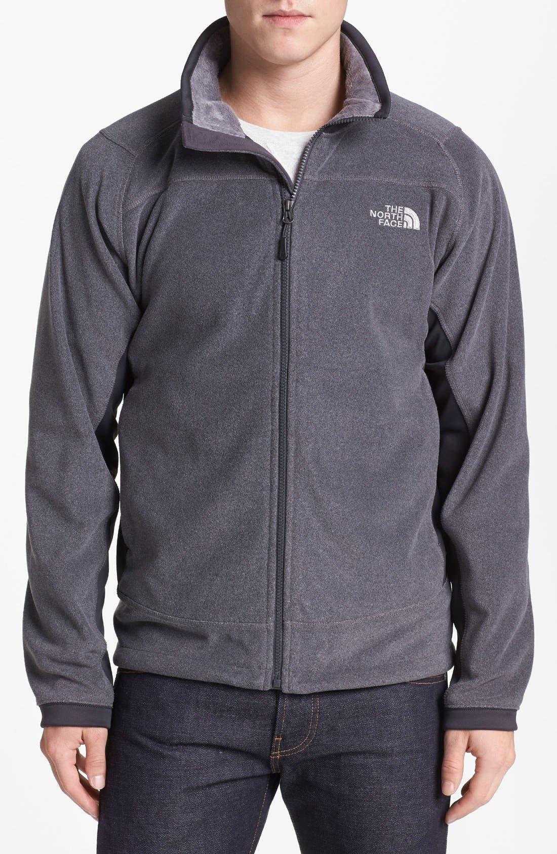 Alternate Image 1 Selected - The North Face 'Valence' FlashDry™ Fleece Jacket
