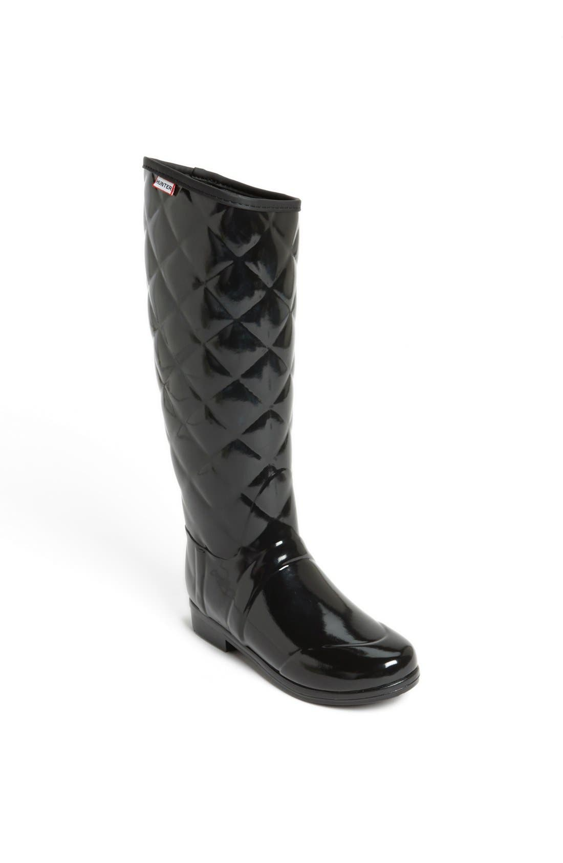 Alternate Image 1 Selected - Hunter 'Sandhurst Savoy' Rain Boot (Women)