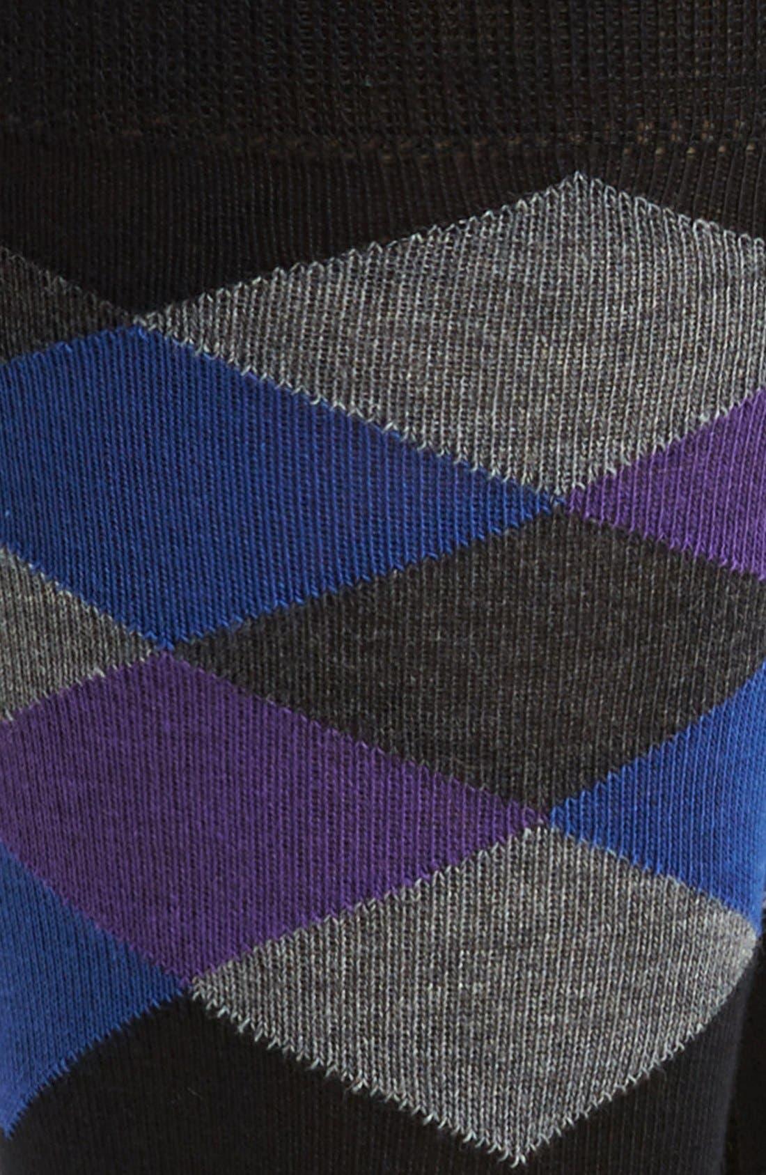 Alternate Image 2  - Cole Haan Pima Cotton Blend Socks (Assorted 3-Pack)