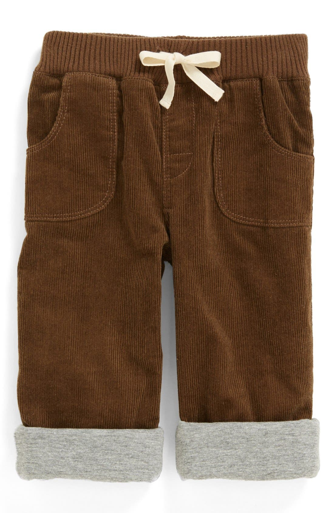 Main Image - Nordstrom Baby Lined Corduroy Pants (Baby Boys)