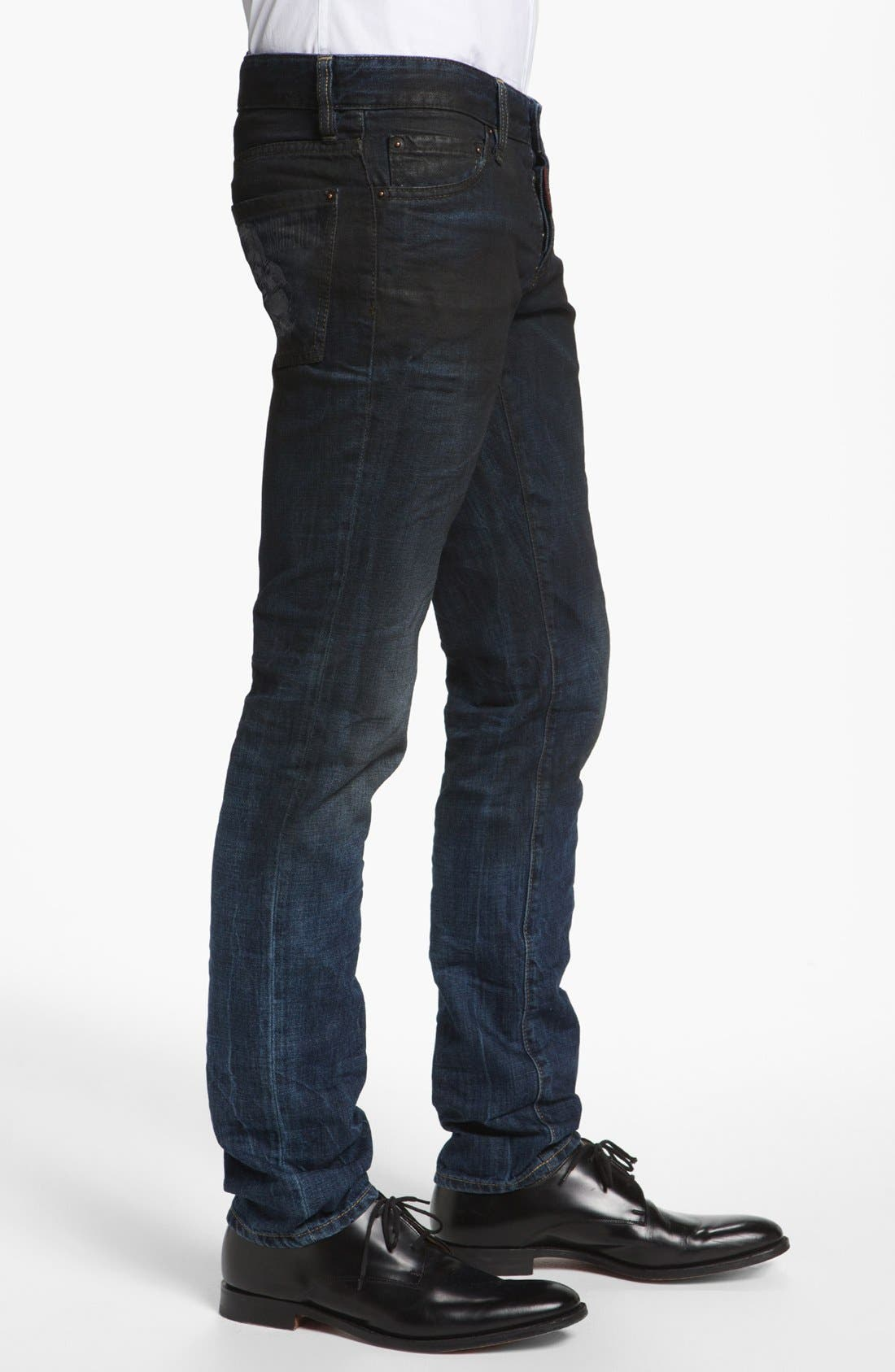 Alternate Image 3  - Dsquared2 Slim Fit Jeans (Blue)