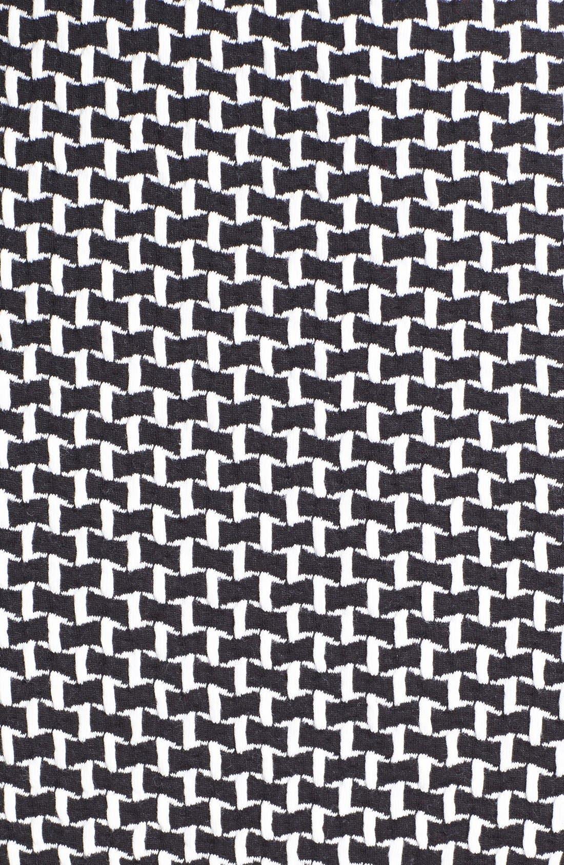 Alternate Image 3  - Bobeau Jacquard Midi Tube Skirt