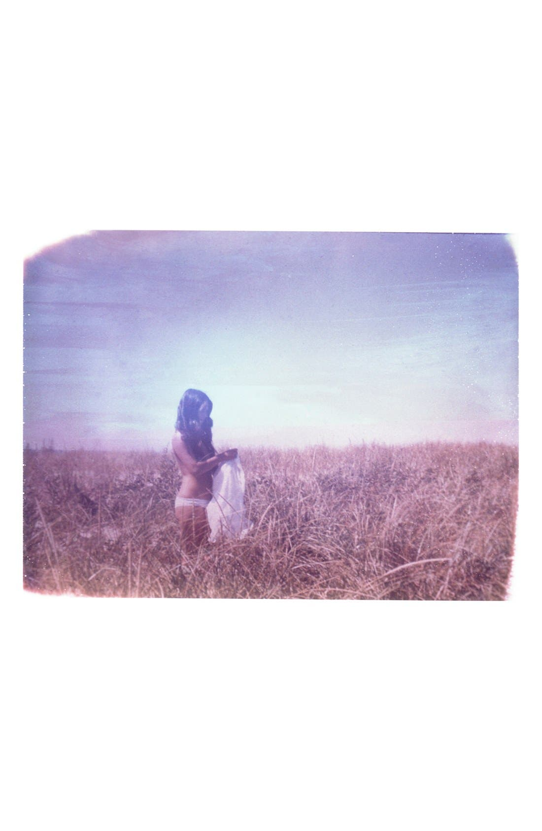 Main Image - She Hit Pause Studios 'Girl in Field' Wall Art