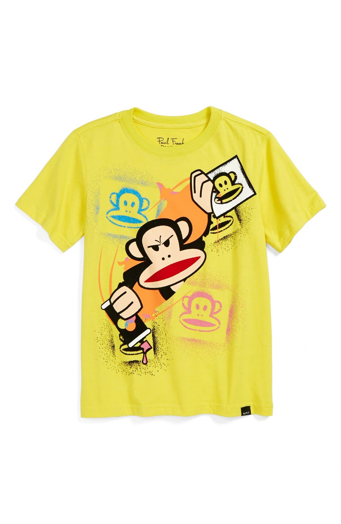 Main Image - Paul Frank 'Stamp' T-Shirt (Little Boys)