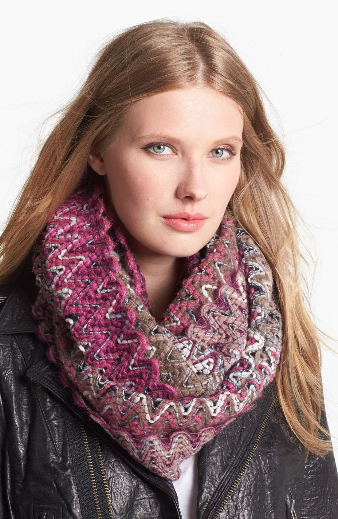 Alternate Image 1 Selected - Missoni Zigzag Infinity Scarf