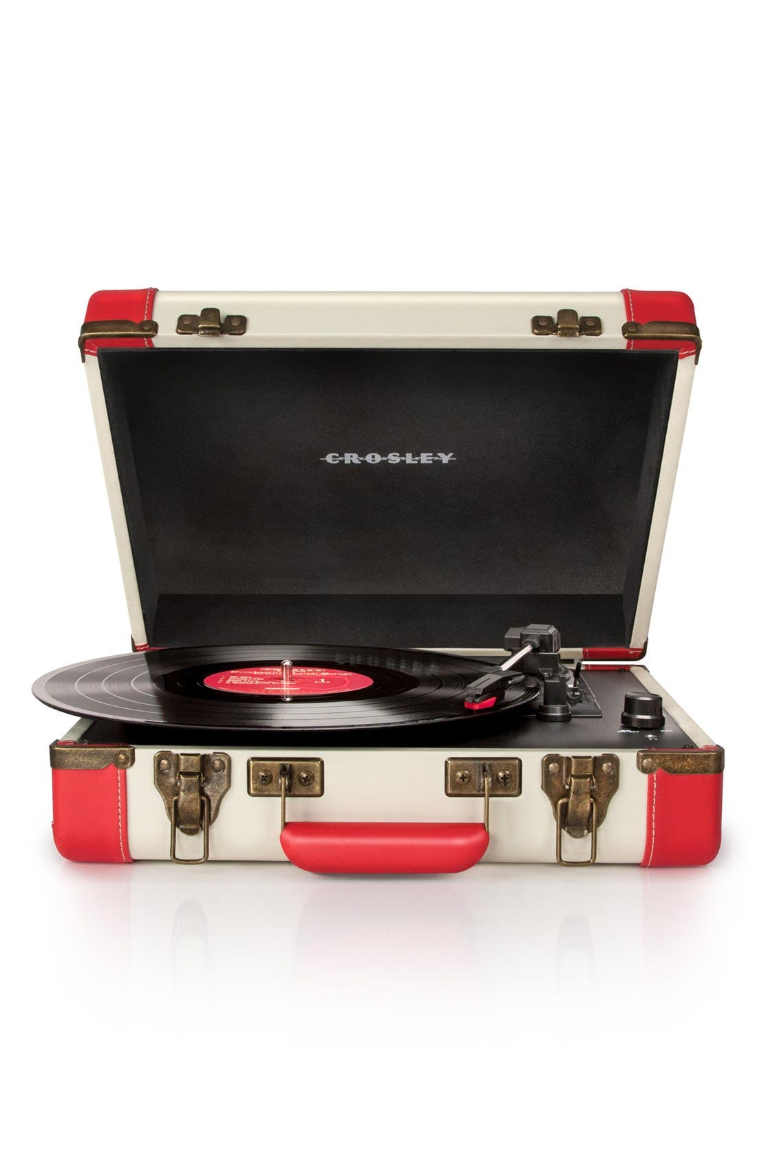 Executive USB Turntable,                         Main,                         color, Red