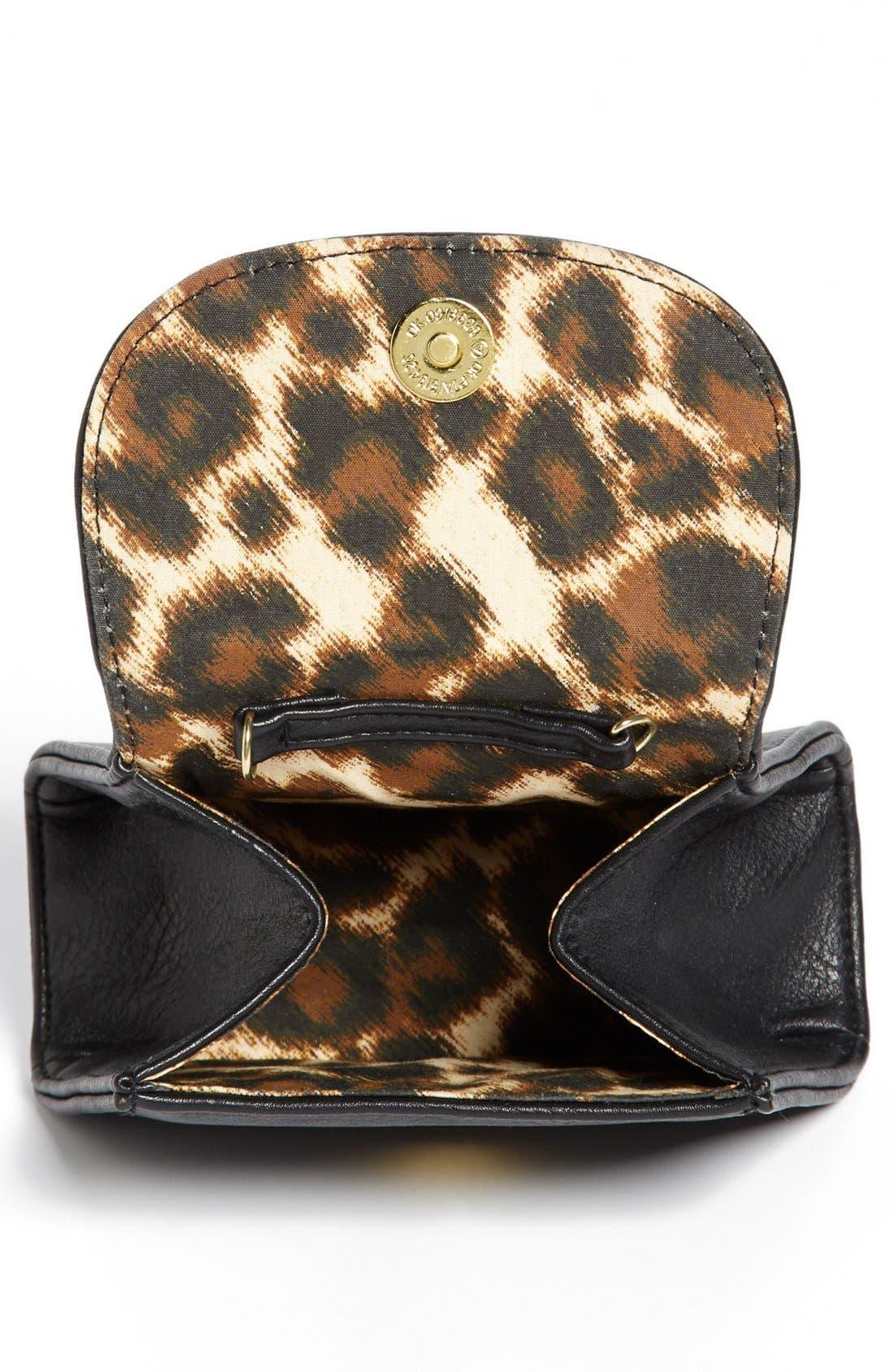 Alternate Image 3  - Lulu Bow Detail Mini Crossbody Bag (Juniors)