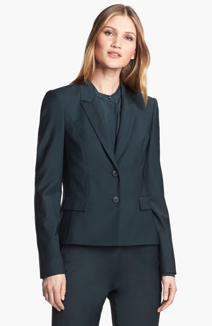 boss hugo boss 39 jilina 39 two button jacket nordstrom. Black Bedroom Furniture Sets. Home Design Ideas