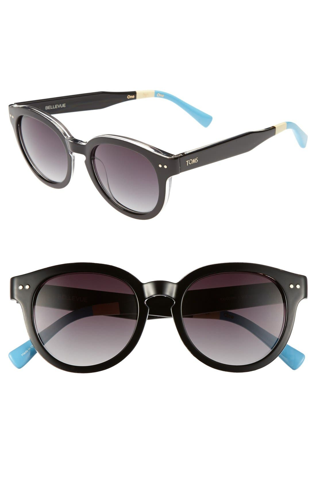 Main Image - TOMS 'Bellevue' 52mm Sunglasses
