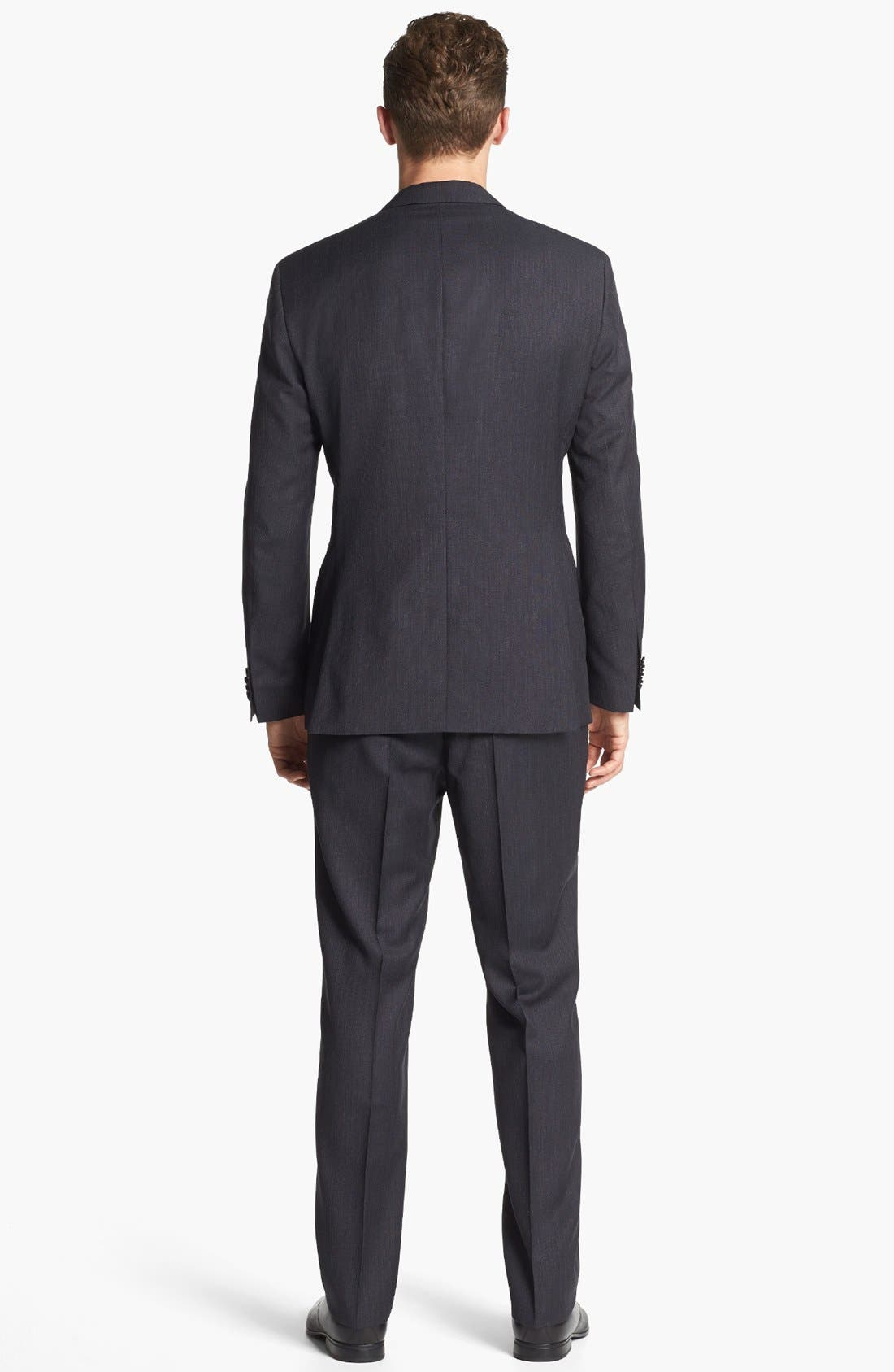 Alternate Image 2  - BOSS HUGO BOSS 'Keys/Shaft' Trim Fit Wool Suit