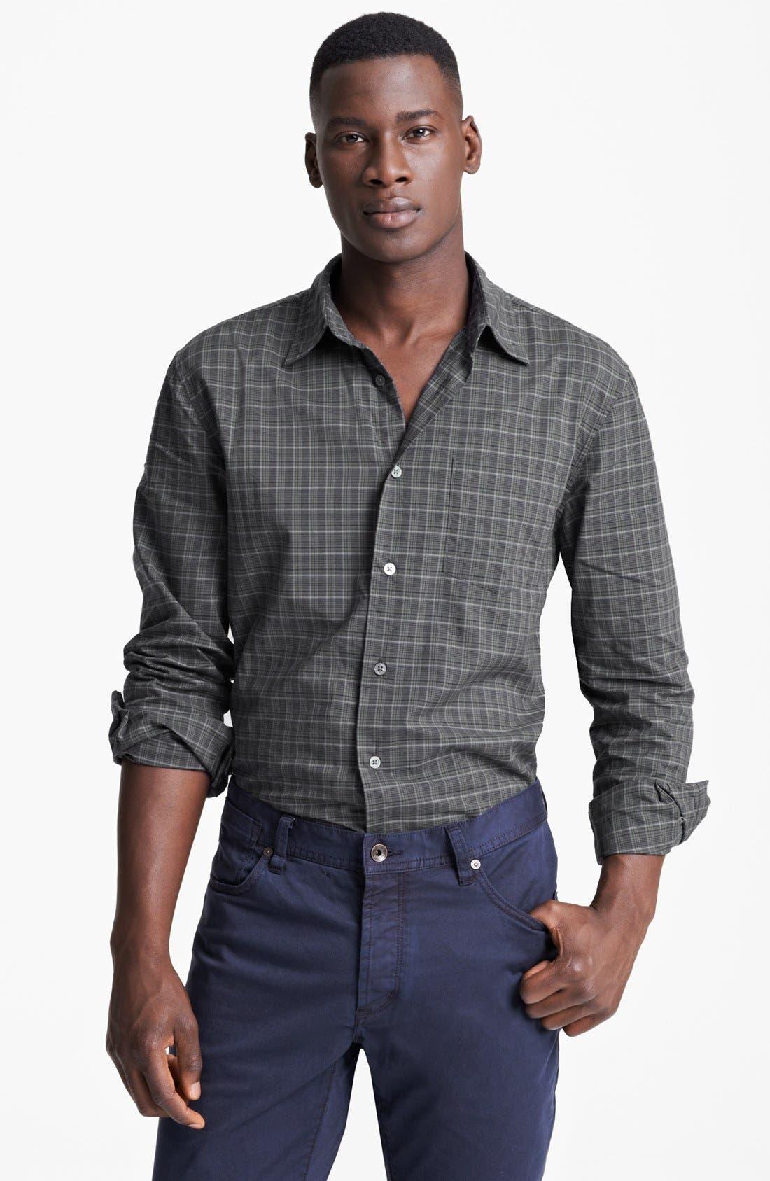 Alternate Image 1 Selected - John Varvatos Star USA Slim Fit Sport Shirt