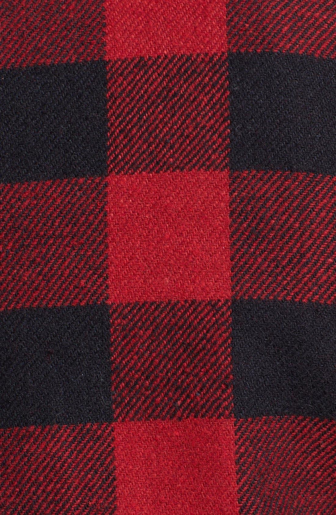 Alternate Image 3  - Like Mynded Buffalo Plaid Crop Jacket