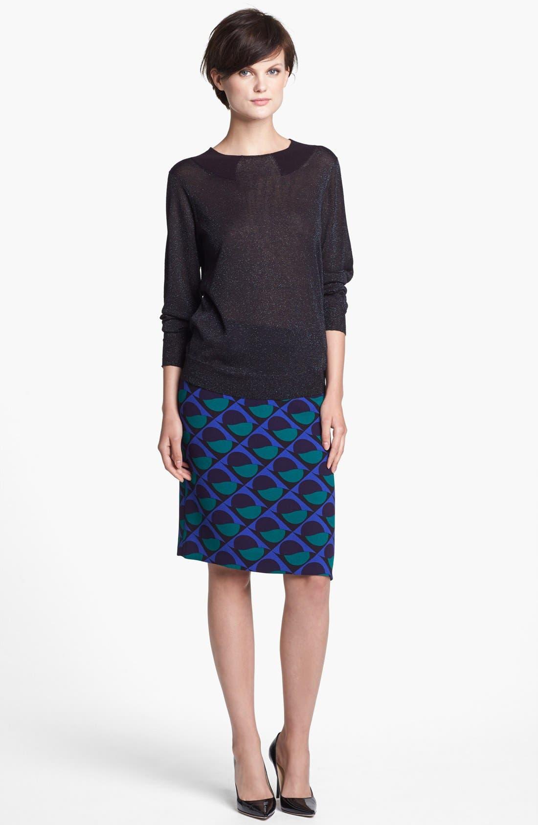 Alternate Image 4  - MARC BY MARC JACOBS 'Etta' Print Pencil Skirt